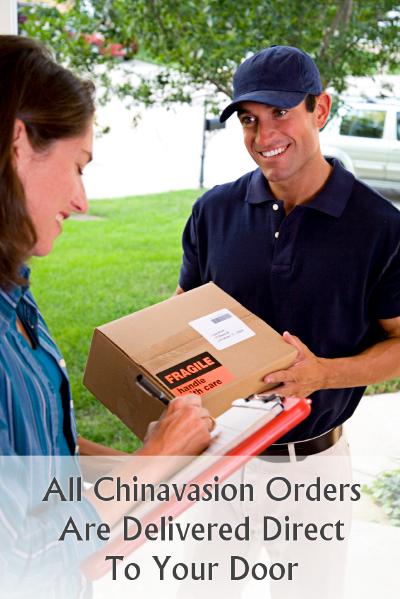 Toutes les commandes sont livrées Chinavasion directement à votre porte