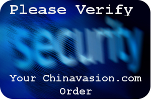 please verify your chinavasion order