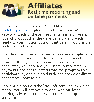 Shareasale's own introduction for Affiliates.